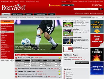 partybets webseite