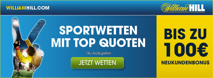 william hill bonus aktion